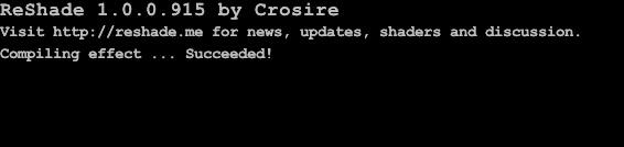 ReShade Succeeded