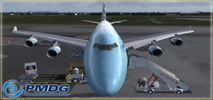PMDG 747-400BCF preview – FsVisions