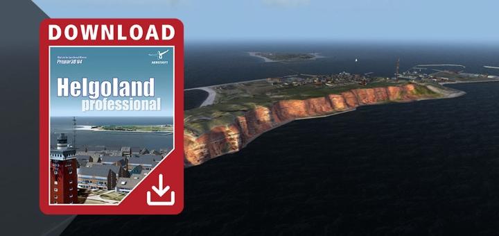Released: Aerosoft Helgoland professional – FsVisions