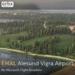 Alesund Vigra Airport for Microsoft Flight Simulator